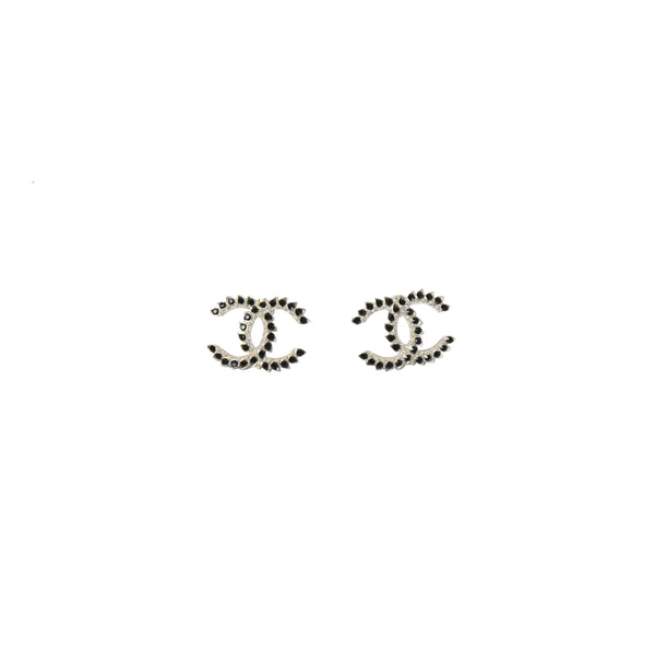 Chanel Golden Black Earring
