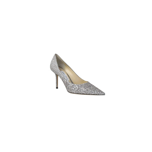 Love Coarse Glitter Degrade Heels Light Lilac 85