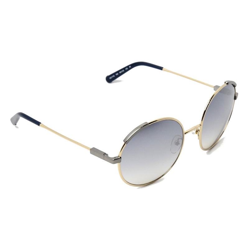 Eria Round Sunglasses /Blue-Grey