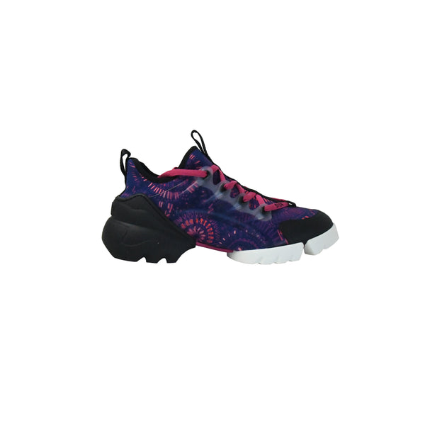D-Connect Fireworks Print Sneaker Deep Blue
