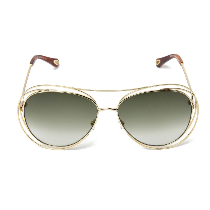 Aviator Sunglasses /Gold-Khaki