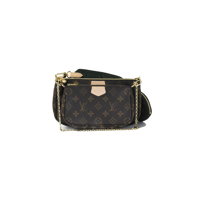 Multi Pochette Accessories Monogram Army Green