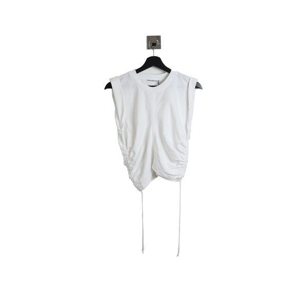 Alexander Wang Wash & Go H.Twist Crop Top White