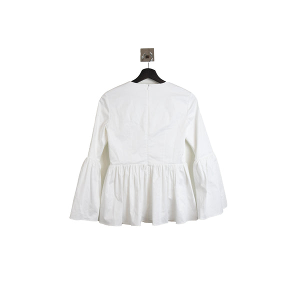 The Row Dora Top White