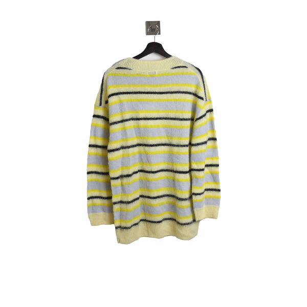 Acne Studios Karal Fluffy Sweater Yellow