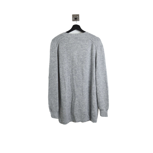 Acne Studios V-Neck Cardigan Light Grey