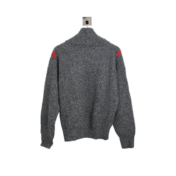 Sandro H19Line Turtleneck Sweater