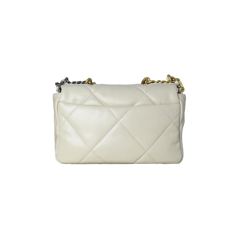 Chanel 19 Small Bag Beige