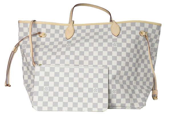 Louis Vuitton Neverfull GM Damier Azur Canvas