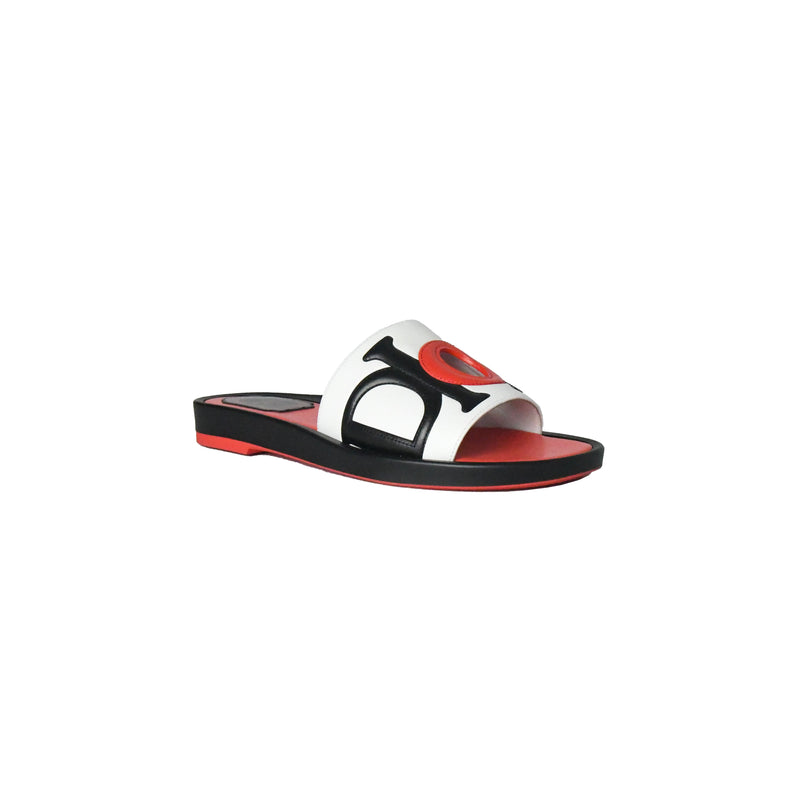 Dior Marina Sandals Black White