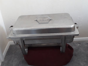 Oblong Chafing Dish with single fuel and insert