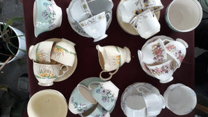 Vintage China Afternoon Tea Set Tea Cup