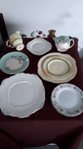 Vintage China Afternoon Tea Set Side Plate