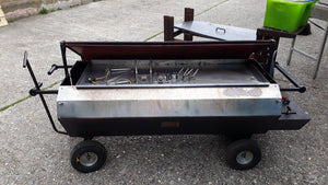 Spit Roast Machine ( stainless steel )