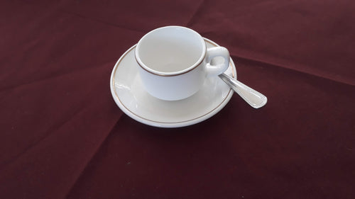 Gold Band Coffee Saucer ( demi -tasse )