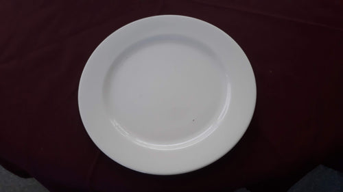 Dinner Plate White Fine Bone China