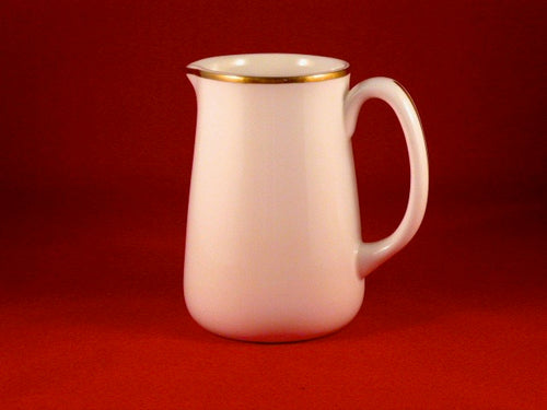 Gold Band Milk Jug
