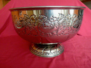 Punch Bowl Silver Plated