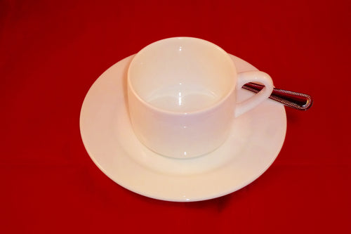 Tea or Coffee Saucer Fine White Bone China