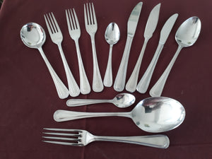 Serving Fork from the BEAD cutlery collection