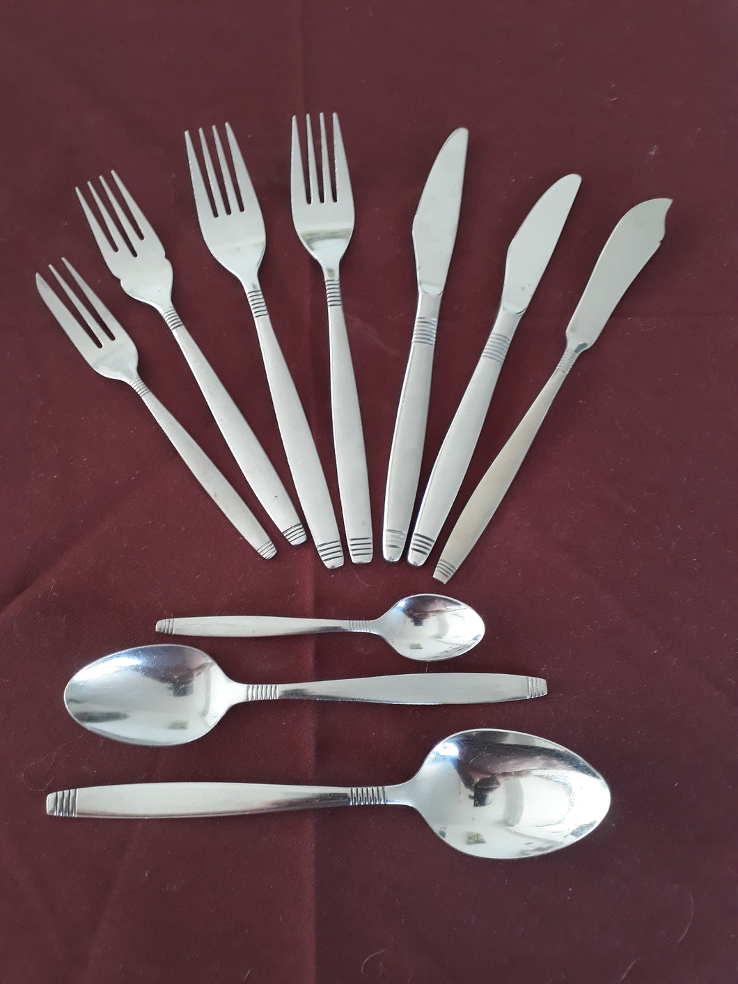 Dessert Fork from the Style cutlery collection