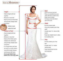 Load image into Gallery viewer, Beaded V Neck Spaghetti Strap Gown with Side Split
