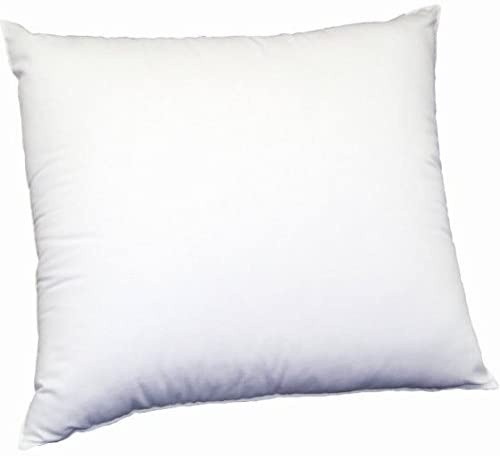 MoonRest Square Premium Hypoallergenic Polyester Microfiber Stuffer Pillow Insert Form for Decorative Throw Pillow, Cushion Cover with Hidden Zipper for Couch Bed Sofa, Solid Soft 16 X 16