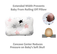 Baby Head Shaping Pillow for Newborn | Newborn Pillow Helps Prevent Flat Head or Plagiocephaly | Infant Pillow Head Shaping Nursing Baby | Pillow for Newborn | Infant Pillow