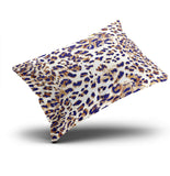 AIHUAW Home Decorative Cushion Covers Throw Pillow Case Animal Print Leopard Pillowcases Boudoir 12x18 Inches One Sided Printed (Set of 1)