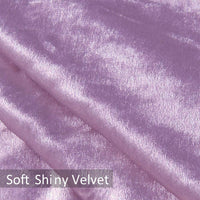 YINFUNG Pillow Covers Lilac Crushed Velvet Glam Mauve Pink Decorative Shiny Throw Pillow Cases Couch 18x18 Sofa Accent Cushion Cover Bling Purple Girls Gifts 2 Set Square Living Room Bed