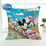 Disney Cartoon Winnie Mickey Minnie Decorative/Nap Pillow Cases Cover Pillowsham Cushion Cover for Kids Children 45x45cm