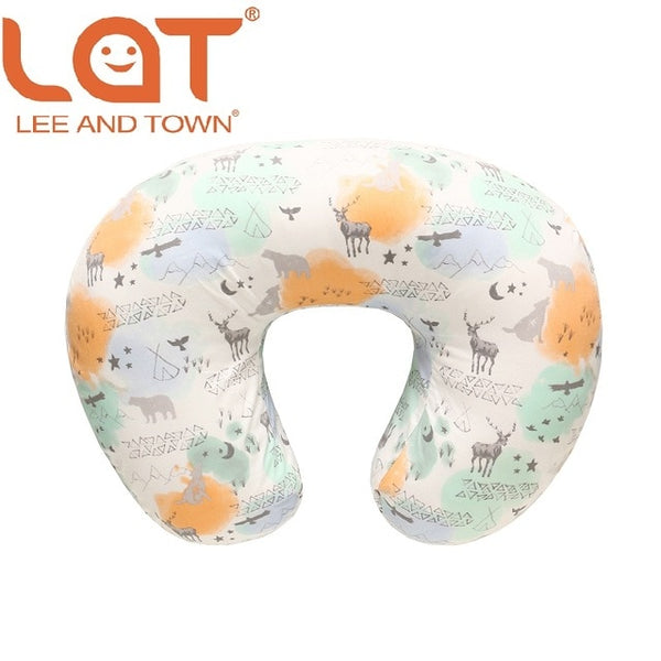 Baby Nursing Breastfeeding Nursing Pillows case Maternity U-Shaped Infant Cotton Pillow Newborn Kids Feeding Waist Cushion Cover