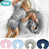 AAG Baby Nursing Pillowcase Bubble U Shape Breastfeeding Support Cushion Cover Infant Cuddle Pregnancy Nursing Pillow Case