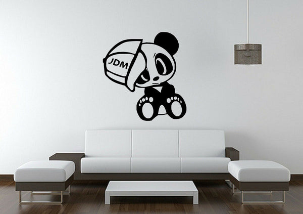 Wall Sticker Mural Decal Vinyl Decor Funny Cute Panda Baby