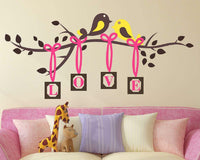 Love Tree Wall Stickers Baby Room Decals Art Bedroom Vinyl Decor
