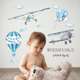 Wall Sticker kids baby rooms home decoration PVC Mural Decals nursery decorat LS