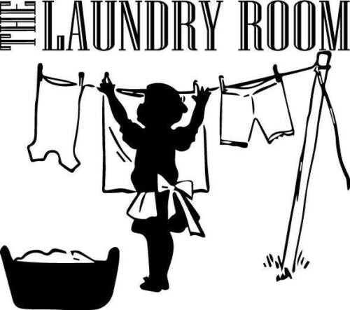 The Laundry Room ClothesVinyl Wall Decor Decal Quote Inspiratio Elegant Cute