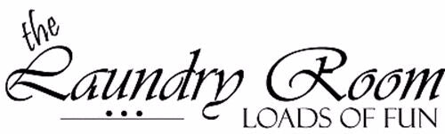 ** The Laundry Room Vinyl Decal Sticker Wall Decor **