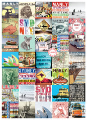 Sydney / Manly Tea Towel