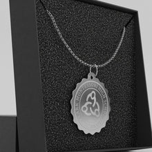 Load image into Gallery viewer, Clark Montessori Stamp Pendant Necklace