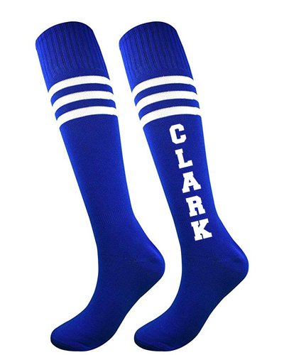 Clark Montessori Knee Length Striped Socks | 1 Pair