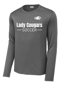 Lady Cougars Soccer Long Sleeve Performance Shirt