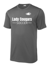 Load image into Gallery viewer, Lady Cougars Soccer Performance Shirt