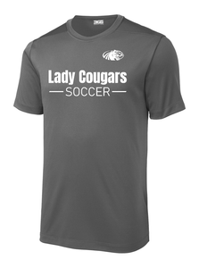 Lady Cougars Soccer Performance Shirt