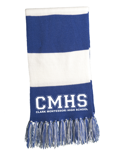 Clark Montessori High School Scarf
