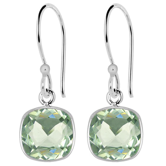 3 Carat Elegant  Natural Green Earrings,  Silver  Earrings for Women picktookshop.myshopify.com