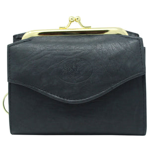 BLACK FRENCH LEATHER WALLET WITH ACCORDION CARD CASE CHECKBOOK picktookshop.myshopify.com [gogle] [sale] [online]