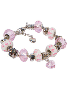 BRACELET WITH EUROPEAN BEAD CHARMS FOR WOMEN AND GIRLS picktookshop.myshopify.com [gogle] [sale] [online]