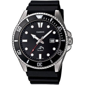 CASIO MEN'S BLACK DIVE-STYLE SPORT WATCH picktookshop.myshopify.com [gogle] [sale] [online]