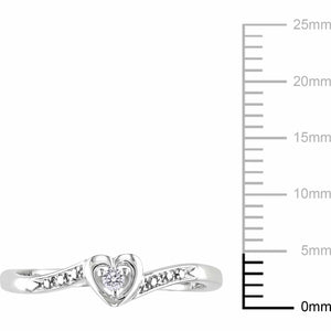 DIAMOND ACCENT STERLING SILVER HEART-SHAPED PROMISE RING picktookshop.myshopify.com [gogle] [sale] [online]